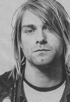 Kurt Cobain (I wish I could reach in and just pull you through!!)