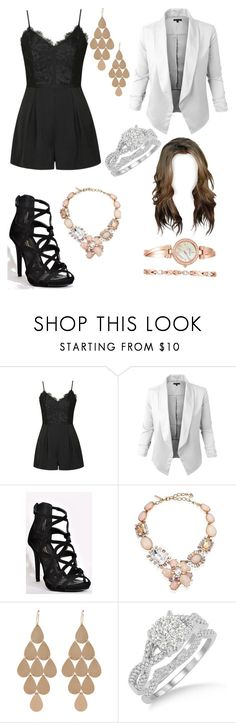 """""""Untitled #769"""" by princesschristina2000 ❤ liked on Polyvore featuring Ally Fashion, Oscar de la Renta, Irene Neuwirth and Anne Klein"""