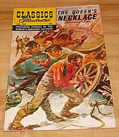 Classics Illustrated Comic Books - The Queens Necklace