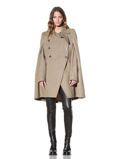 Ann Demeulemeester Women's Cape with Removable Sleeves at MYHABIT