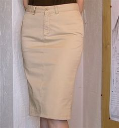 Shakesville: Easy Sunday Sewing Project making skirt from pants