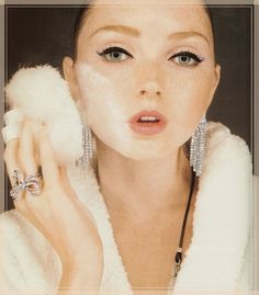The beautiful Lily Cole