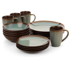 Hometrends Lagoon Dinnerware Set Image 1 of 1 Terracotta, Bone China Dinner Set, Dining Ware, Dining Room, Kitchenware, Tableware, Everyday Dishes, Kitchen Decor, Kitchen Tools