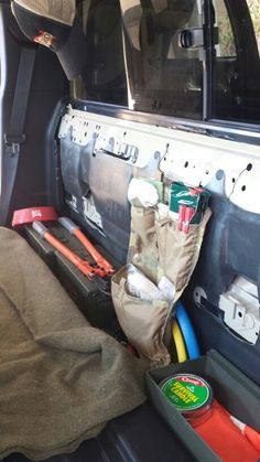 Molle Panel For Behind The Rear Seats Is There Interest