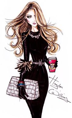 ~The Devil Wears Prada illustration by Hayden Williams | House of Beccaria#