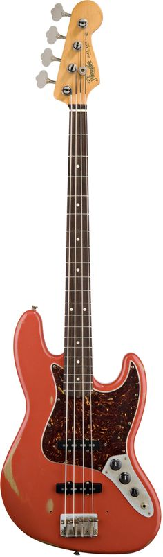 Fender Road Worn '60s Jazz Bass A veritable race car of a bass, the Jazz Bass guitar was born in the '60s and became the favorite of players who put as many miles on the instrument as they did on thei