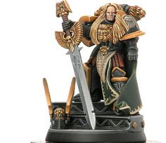 Primarch - Lion El 'johnson of the Dark Angels