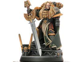Primarch - Lion El 'johnson of the Dark Angels                                                                                                                                                                                 Plus