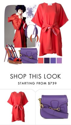 """""""Untitled #3343"""" by julinka111 ❤ liked on Polyvore featuring Seed Design, Gianluca Capannolo, Gucci and Sebastian Professional"""