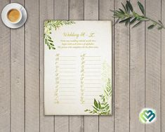 Check out this item in my Etsy shop https://www.etsy.com/listing/528262818/printable-woodland-wedding-a-to-z-bridal