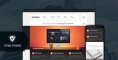 Interakt Agency – Responsive HTML theme free download