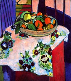 Basket of Oranges Henri Matisse 1912