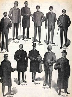 1900 clothing men - Google Search