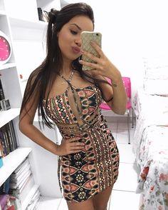 "3,856 Me gusta, 47 comentarios - Rafaella Cerqueira (@cerqueirarafa) en Instagram: ""Vestido @closet_rc """