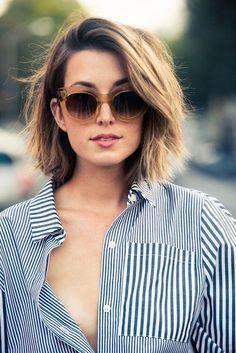 Cor cabelo curto
