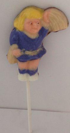 Cheer leader lollipop