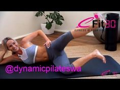 Dynamic Pilates Workout - 40 Minute Full Body Challenge - YouTube