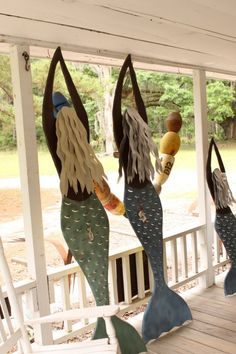 Iron Fish Mermaids Daufuskie Island