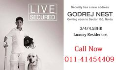 Godrej Properties Nest offering pre-launch price to their 2/3/4BHK residences. It is the next residential icon on Noida Expressway by Godrej Properties. High rise tower of 32 storey in normal & iconic towers to provide good lifestyle environment for living.