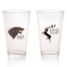Game of Thrones Pint Glass Set