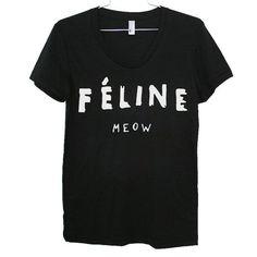 Feline Celine T-Shirt