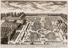 Versailles: Garden, 1685 Photograph  - Versailles: Garden, 1685 Fine Art Print