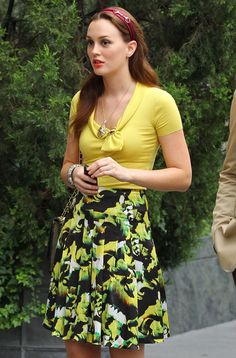 Leighton Meester's Blair Films Gossip Girl in New York City on August 10, 2012