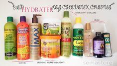 Pour bien hydrater les cheveux crépus: il faut trouver le soin ou la combinaison de soins capillaires adaptés à ses propres cheveux. Leave-in, lotion capillaire hydratante, crème capillaire ou beurre hydratant, huile naturelle. Plusieurs choix sont possibles.