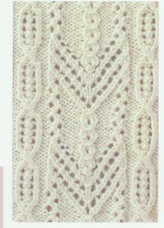 Lace Knitting Stitch #13