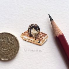 Paintings by Lorraine Loots. Part of a project called 365 Projects for Ants - See more at: http://anthologymag.com/blog3/2014/09/30/365-postcards-for-ants/#sthash.TDw1D0ul.dpuf