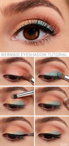 Sombra 3 colores para ojos marrones