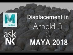(603) Displacement in Arnold 5 & Maya 2018 - YouTube