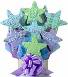 Cookies by Design Cookie Bouquet! Customize any bouquet! chicagolandcookies.com