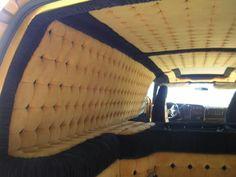 full custom biskit van interior