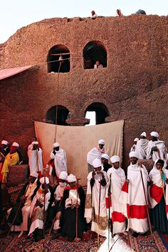 lalibela, ethiopia via line x shape x colour