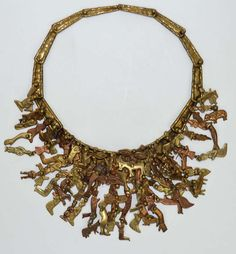 """""""Milagros"""" Necklace by Sculptor Pal Kepenyes 2"""