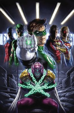 Green Lantern and the Justice League (DC)