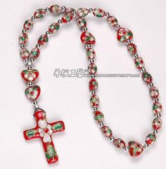 Cloisonne Anglican Rosary.beads rosary,children rosaries