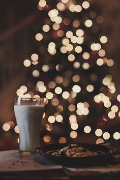 Christmas milk & cookies for Santa