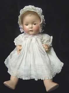 Vintage all Composition Baby Doll -- Very Precious - Real Sweet Face