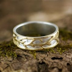 Custom Gold RIngs For Hanna in 14kt Yelllow Gold by opalwing