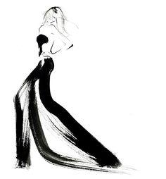 Fashion illustration // Yoco Nagamiya