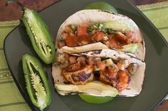 Easy Seared Shrimp #Tacos by @jalapenomadness