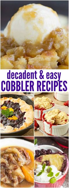 Cobblers are a Southern classic and one of my favorite desserts to make. They are decadent, delicious, and easy to make!