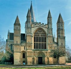 ~Rochester Cathedral in Kent.  The second oldest in England~ Played a gig here for the Rochester Sweeps festival - right in the nave, Huge echo. Had to change repertoire and sing all the slow stuff.