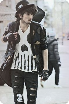 punk outfits men - punk outfits ` punk outfits men ` punk outfits edgy ` punk outfits for school ` punk outfits for women ` punk outfits grunge ` punk outfits ` punk outfits men grunge Punk Outfits, Tumblr Outfits, Indie Outfits, Grunge Outfits, Male Outfits, Fashion Outfits, Moda Punk, Moda Emo, Goth Outfit