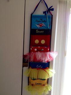 Disney Cruise 4 Pocket Custom Tutu Fish Extender by JoleesPockets on Etsy
