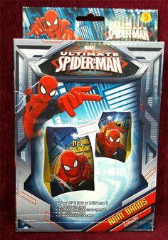 ห่วงแขนว่ายน้ำ Spiderman ~ 99.00 บาท >> - Visit to grab an ama