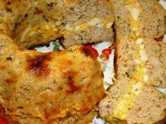Мясной кекс с начинкой