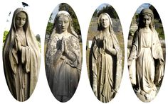Beautiful Marias in the Stellawood Cemetary. Pics by my friend Bronwen.